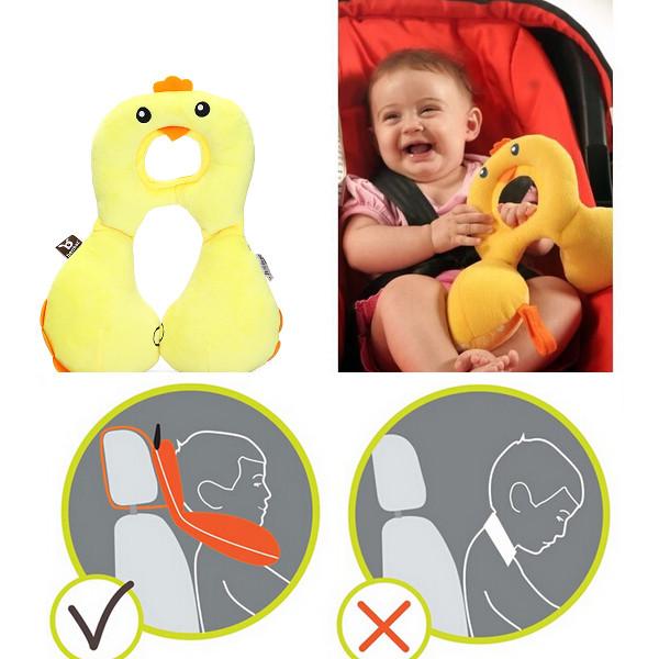 1 4Y Baby Stillkissen Kinder Autositz Nacken Kopf nach hinten Schutz Baby Kinder & Mutterpflege