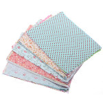 10Pcs DIY Bundle Mixed Craft Cotton Fabric Material Scraps Offcuts Bag Baby & Mother Care