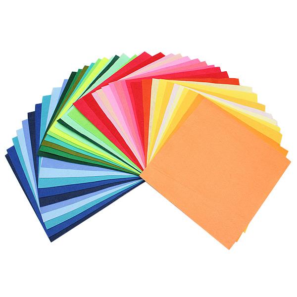 10stk A4 Fabric Sheets Farve Filt Uld Art Håndværk Syning DIY Børn  & Babyudstyr