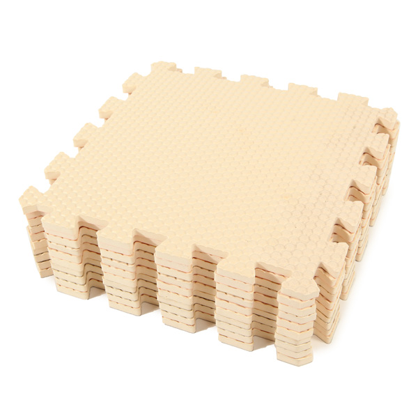 10pcs Eco-friendly Soft Rubber Baby Crawling Floor Puzzle Rugs Play Mat Baby & Mother Care