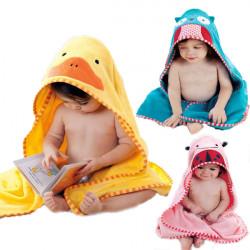 12 Mønstre Hættetrøjer Baby Dyr Tegneserie Badekåbe Håndklæde Nighty Pyjamas