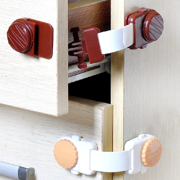 1 Pcs Baby Safety Cabinet Drawers Refrigerator Toilet Safety Lock Baby & Mother Care