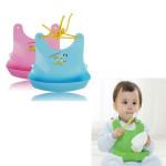 1 Pcs Kangaroo Plastic Baby Bib Waterproof Rice Pocket Baby & Mother Care