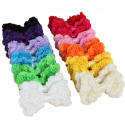 24 Pcs Baby Girl Hair Accessories Rainbow Bows Clips