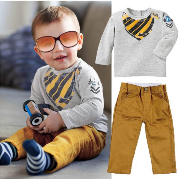 2st Baby Barn Pojkar Tröja Toppar Uppvärmning Ställer Casual Sportswear Barnprodukter