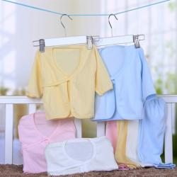 2PCS Baby Infant Newborn Underwear Set Cotton Sleepwear