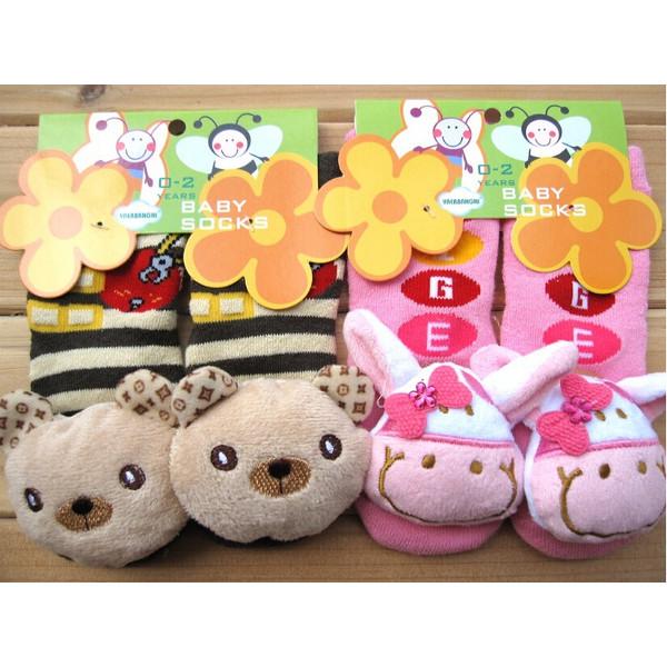 3D Cartoon Animal Baby Thick Slip-resistant Floor Socks Baby & Mother Care