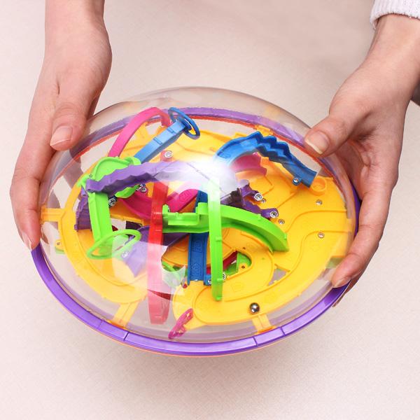 3D Magic Intellect Maze Bold Børn Pædagogisk Legetøj Børn  & Babyudstyr