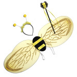 3 Pcs Child Bumble Bee Wings Props Halloween Party Stage Photo Baby & Mother Care