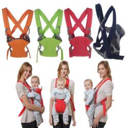 3 Position Bæresele Kid Spædbarn Sling Wrap Carrier Rygsæk