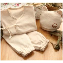 4stk Baby Newborn Organic Cotton Kleidung geliefert Set