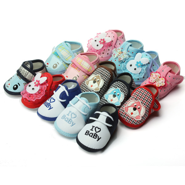 5 Styles Prewalker Soft Sole Crib Shoes Baby Infant Anti-slip On Boot Baby & Mother Care