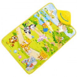 Baby Animal Heaven Musical Mat Touch Singing Carpet Educational Toy