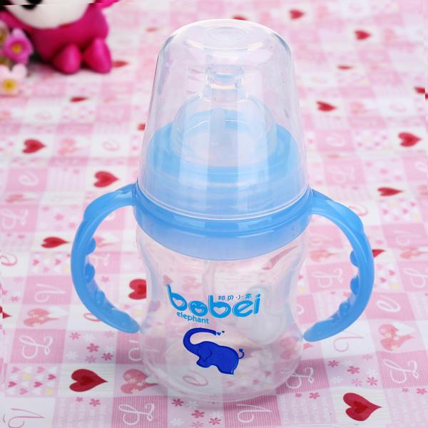 Barn Automatisk Temperatur Sensing 150ml Utfodring Mjölkflaska Barnprodukter