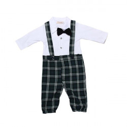Baby Overall Bodysuit Fliege Body Onepiece Anzug