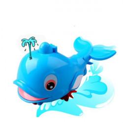 Baby Boys Girls Spray Water Dolphin Beach Toy Child Bath Toy