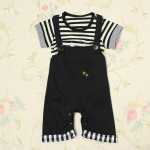 Baby Boys Stripe Playsuit Top T-shirt Overall Pants Jumpsuit Baby & Mother Care
