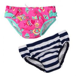 Baby Børn Drenge Piger Tegneserie Style Swim Sommer Badetøj Bleer