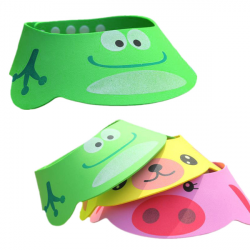 Baby Children Animal Bath Shower Cap Shield Adjustable Hat