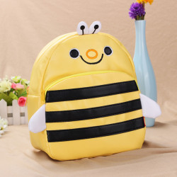 Baby Children Bee Backpacks Cartoon School Bag Bookbag