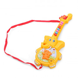 Baby Children Cartoon Elephant Guitar Musical Educational Toys