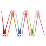 Baby Børn Tegneserie Style Spisepinde Easy Fun Learning Helper Børn  & Babyudstyr