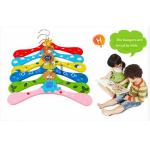 Baby Barn Tecknade Trä Kappa Kläder Krokar Hangers Barnprodukter