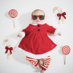 Baby Children Christmas Clothes Outfit Pants Dress Sets