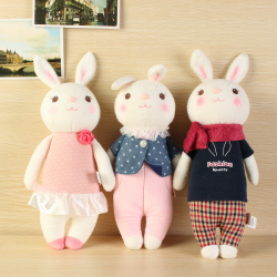 Baby Children Doll Toys Bunny Plush Rabbit Decoration Gift
