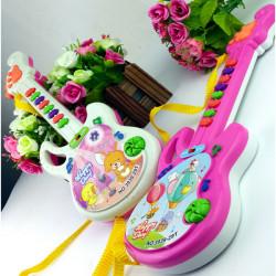 Baby Børn Electronic Guitar Musikal Instrument Pædagogisk Legetøj