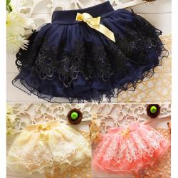 Baby Kind Mädchen Ballettröckchen Minirock Ballett Tüll Kleid