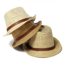 Baby Children Jazz Hat Cool Straw Beach Sun Cap
