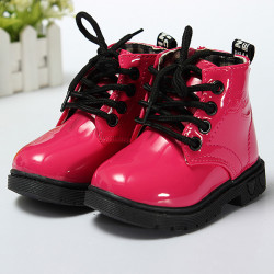 Baby Children Kids Girls Boys Candy Fashion Martin Boots Shoes