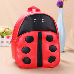 Baby Children Ladybug Backpacks Cartoon School Bag Bookbag