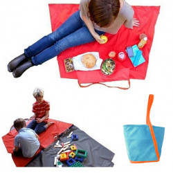 Baby Children Multi-functional Outdoor Storage Bag Picnic Toy Mat