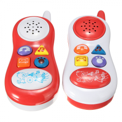 Baby Children Musical Phone Toys Mobile Learning Sound Gift