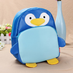 Baby Children Penguin Backpacks Cartoon School Bag Bookbag