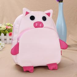 Baby Children Pig Backpacks Cartoon School Bag Bookbag