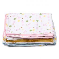 Baby Baumwollgaze Badetuch Decke 100x150cm Big 4 Layer Quilt