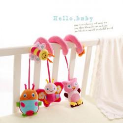 Baby Crib Rattle Hanging Musical Toys Car Pram Gifts