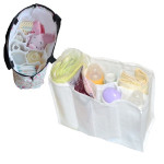 Baby Diaper Nappy Changing Storage Bag 7 Liner Cell Divider Mother Bag Baby & Mother Care