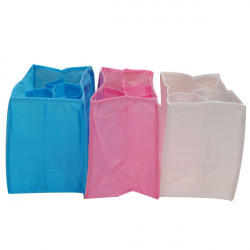 Baby Diaper Nappy Changing Storage Bag 7 Liner Lining Divider
