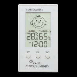 Baby Face Expressions Raum Innen Digital Hygrometer Thermometer