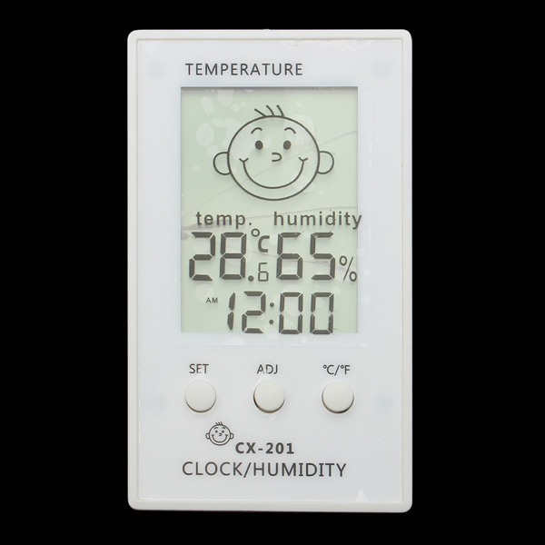 Baby Face Expressions Room Indoor Digital Hygrometer Thermometer Baby & Mother Care