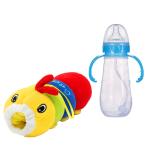 Baby Feeder Cover Plush Doll Caterpillar Cartoon Milk Bottle Case Baby & Mother Care