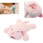 Baby Feeder Cover Plush Doll Pink Pig Milk Bottle Case Baby & Mother Care