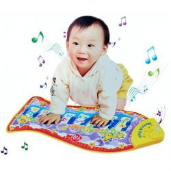 Baby Fische Tiere Musik Piano Entwicklung Touch Mat Spielzeug Geschenk