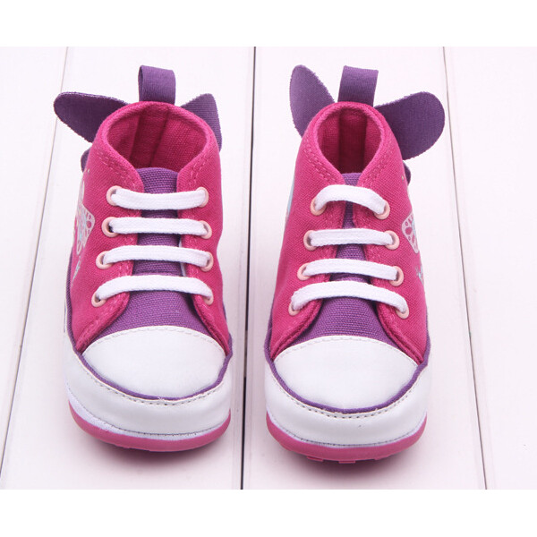 Baby Girl Butterfly Decorated Princess Toddler Canvas Shoes Baby & Mother Care