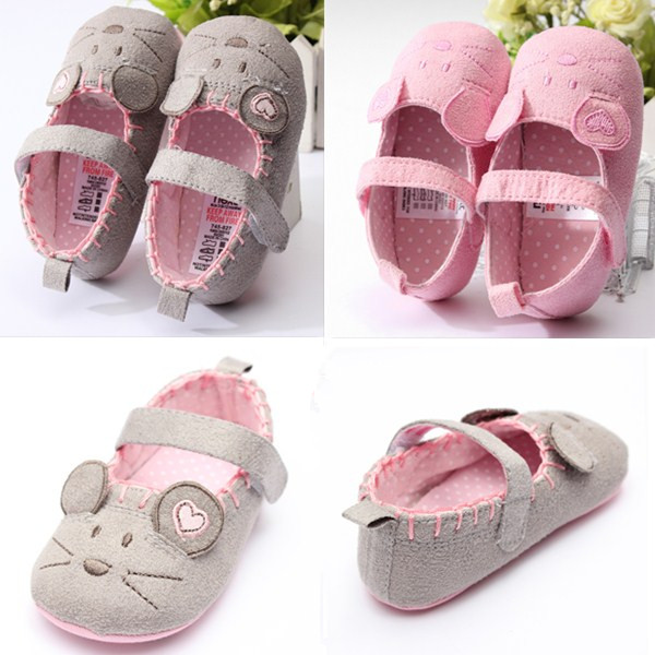 Baby Girl Infant Toddler Little Mouse Soft Sole Crib Princess Shoes Baby & Mother Care
