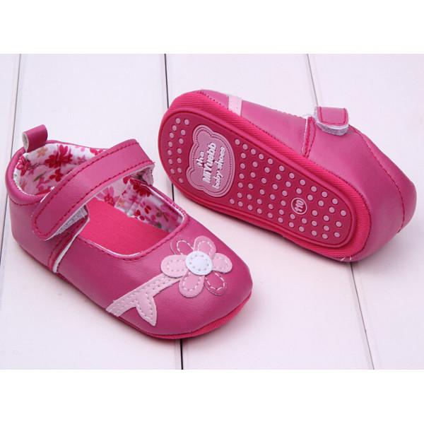 Baby Girl Little Flower Pattern Princess Prewalker Shoes Baby & Mother Care